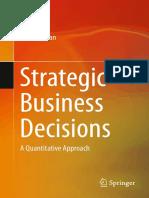 2014 Book StrategicBusinessDecisions