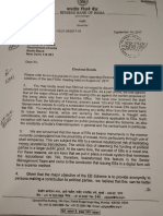 Urjit Patel's Letters