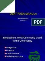 2007 Obat pada Manula.ppt