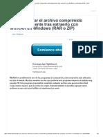 Como Eliminar El Archivo Comprimido Automáticamente Tras Extraerlo Con WinRAR en Windows (RAR o ZIP)