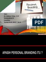 personal branding by trisno.pptx