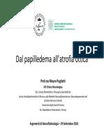 Dal Papilledema Allatrofia Ottica Oftalmologo vs Neurologo-Pugliatti