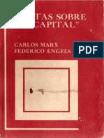 Cartas Sobre El Capital Marx y Engels
