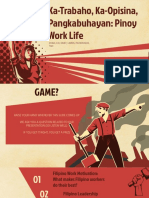 PSY 108 Filipino Work Life Presentation