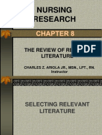 CHAPTER 8- nursing research