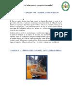 INFORME DE CANALES Y SU CLASIFICACIÓN DE FLUJO.docx