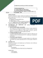 MEMORIA DESCRIPTIVA DE INSTALACIONES SANITARIAS FINAL IMPRIMIR.doc
