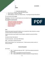 drept public international curs