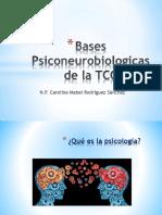 Bases Psiconeurobiologicas de La TCC