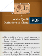 lec # 5 Water  Quality Parameters - Copy