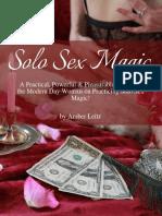 Solo Sex Magic