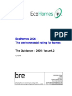 Ecohomes Guidance