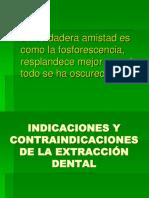 16INDICACIONES Y CONTRAINDICACIONES DE LA EXTRACCIÓN.ppt