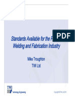 Available Standards presentation by TWI 21.10.2010 (1)