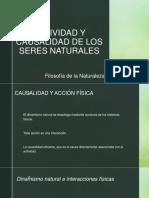 Actividad y Causalidad de Los Seres Naturales