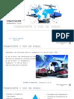 Transporte y Uso de Suelo