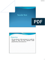 Tensile Test Presentation