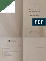 La Construcción Del Delincuente - Juan Pablo Mollo