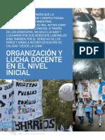Organización y lucha docente  en el nivel inicial