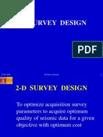 2-D SURVEY DESIGN_Final.ppt