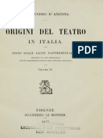 D'ANCONA- Origini Del Teatro Italiano 2