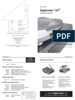 der DG400 Manual-Print