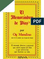 019 El Memorándum de Dios - Og Mandino.pdf
