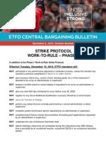 Central Bargaining Bulletin