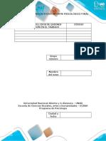 Examen Final-Informe Psicológico