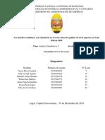 metodos estadisticos en la educacion superior de Honduras