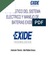 EXIDE - Diagnostico Del Sistema Electrico y Manejo de Baterias 15-03-10