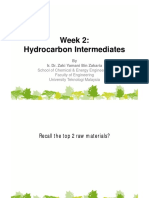 Hydrocarbon Intermediates