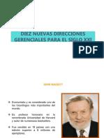 DIEZ NUEVAS DIRECCIONES GERENCIALES PARA EL SIGLO XXI.pptx