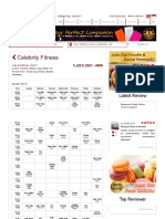 Gym Schedules at Celebrity Fitness - Lotte Mall Bintaro - Love Indonesia