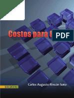 Costos Para PyME 1ra Edición