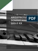 Arquitectura Dominicana Del Siglo Xx