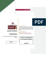 AUDITORÍA FORENSE Libro Fabian Delgado Loor 1-10-2017