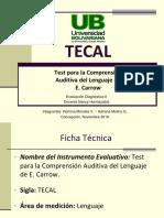 Presentacion TECAL