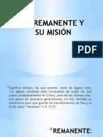 El Remanente y su Mision.pptx