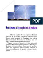Fenomene electrice