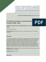 Crecimiento económico y desarrollo humano en Colombia ....marrugo.docx