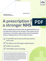 Persception for a Stronger NHS