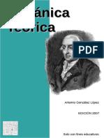 Mecánica Teórica - Artemio González