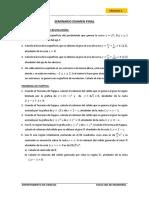 Seminario Examen Final Càlculo 2
