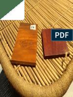 various shades of mango wood