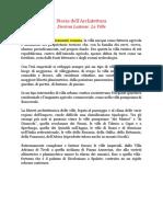 Storia Dell'Architettura La Villa Ferretti