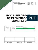 ITC-02 Reparación de Elementos de Concreto (1).docx