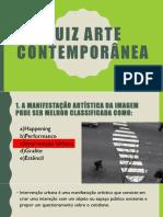 Quiz Arte Contemporânea