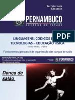 Fundamentos Gestuais e de Organização Das Danças de Salão
