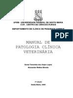 Manual de Patologia Clínica 2009